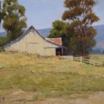 Kathleen Dunphy, Napa Summer Fields, oil, 16 x 20.