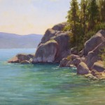 Kathleen Dunphy, Tahoe Bliss, oil, 16 x 20.