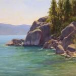 Kathleen Dunphy, Tahoe Bliss, oil, 16 x 20.