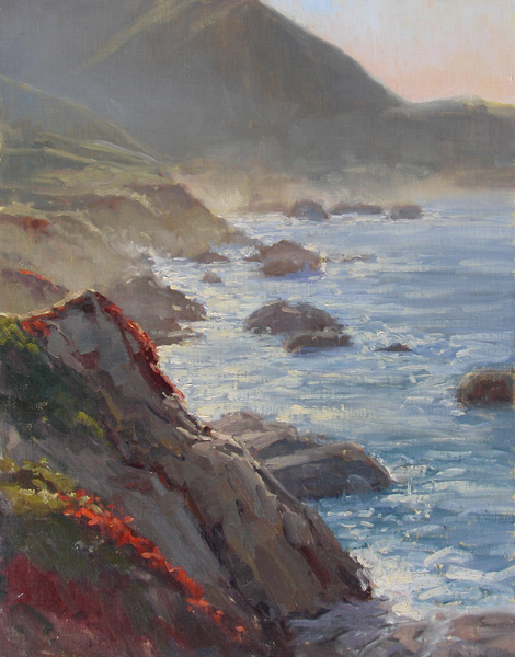 Kathleen Dunphy, Rise and Shine, oil, 16 x 12.