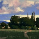 Romona Youngquist, Early Summer in Yamhill Co., oil, 36 x 48.