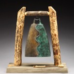 Ebb & Flow, bronze, 20 x 20 x 9.