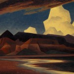 Ed Mell, Flat Wash, oil, 11 x 14.