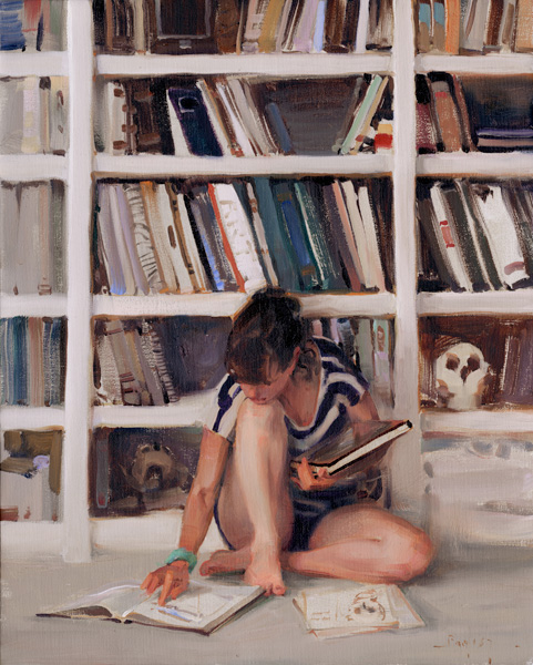Kim English, Study of Anatomy, oil, 20 x 16.