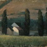 Seth Winegar, Evening, oil, 14 x 18.