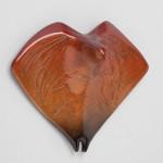 Rebecca Tobey, Fire, bronze, 9 x 8 x 4.