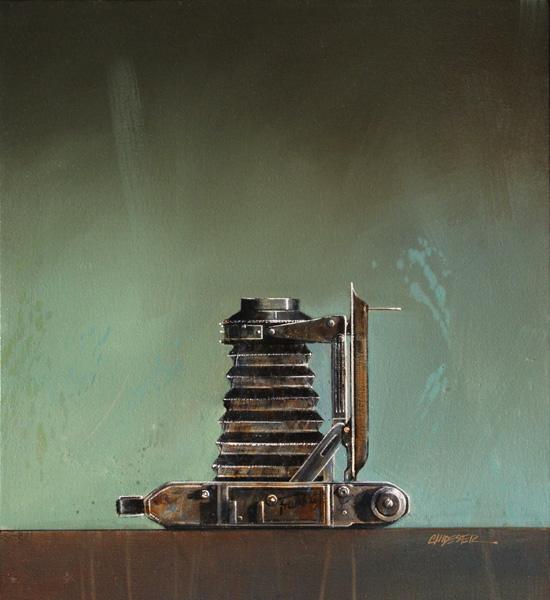 Wendy Chidester, Franka, oil, 22 x 20.