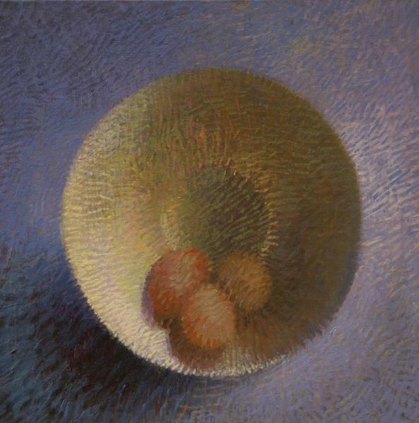 Will Klemm, Free Range, oil, 20 x 20.