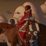Logan Maxwell Hagege, The Gathering, oil, 40 x 60.