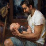 Daniel Gerhartz, Hopes and Dreams, oil, 30 x 24.