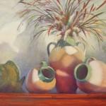 Judy Crane, Ghost Shadows, oil, 24 x 30.