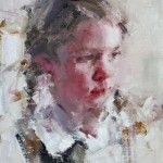 Carolyn Anderson   Girl With Braids, oil, 10 x 8.