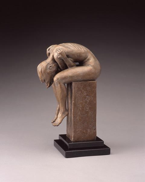 Daniel Glanz, Contemplation, bronze