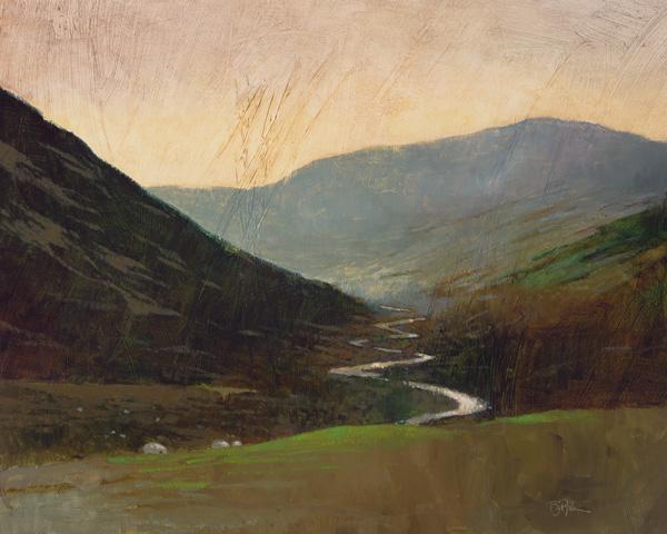 Bart Forbes, Glenlivet, oil, 29 x 35.