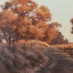 Meisha Grichuhin, Golden Glow, oil, 20 x 24.