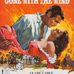 Howard Terpning, Gone With the Wind, vintage poster, 41 x 27.
