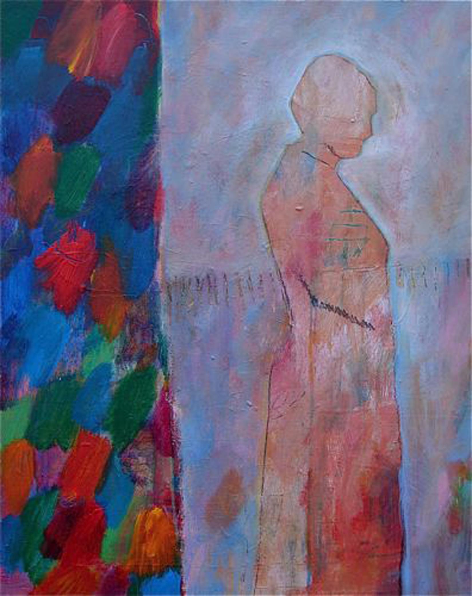 Lance Green, Garden Spirit, acrylic, 36 x 24.