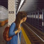 Daniel E. Greene, Waiting for the Train—Sophie, oil, 34 x 32.