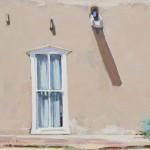 William Hook, Hacienda Window, oil, 12 x 16