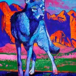 Blue Coyote by Jeff Ham