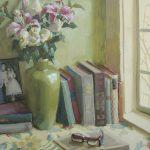 Jennifer Diehl, Happily Ever After, oil, 24 x 20.