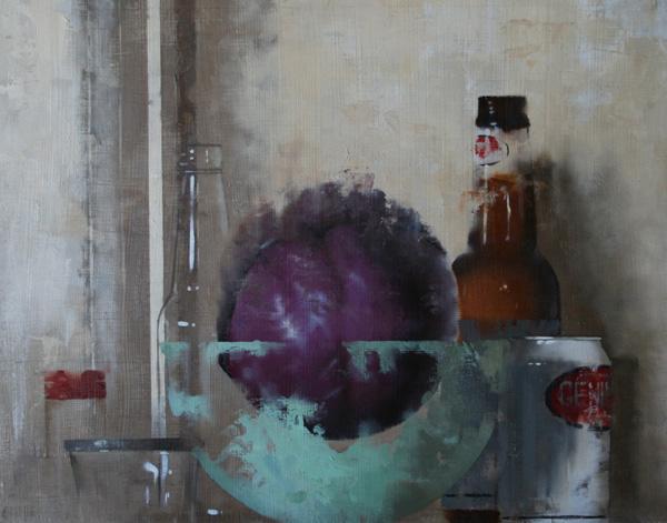 Matthew Saba, Hawkins, oil, 14 x 11.