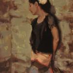 Johanna Harmon, Heirloom, oil, 18 x 12.