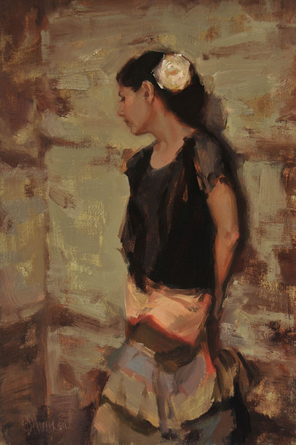 Johanna Harmon, Heirloom, oil, 18 x 12.