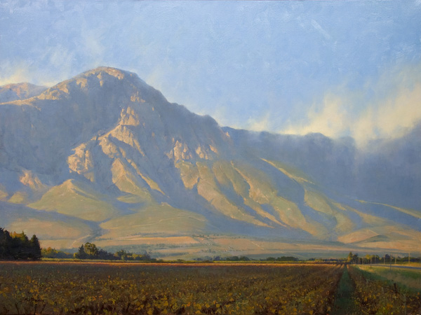 Marc Hanson, Hex River Valley, oil, 30 x 40.