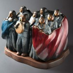 Doug Hyde, Honor Song, bronze, 24 x 24 x 18.
