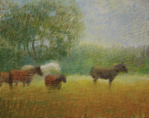 Will Klemm, Horses, oil, 20 x 22.