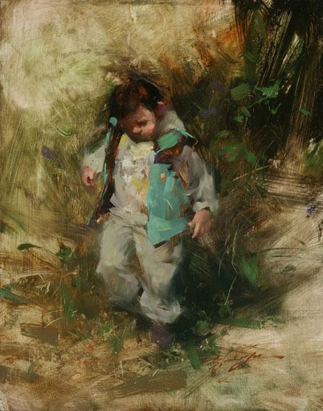 Hsin-Yao Tseng | Discovering, oil 14 x 11.