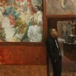 Hsin-Yao Tseng, Guarding Sorolla, 30 x 30.