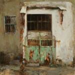 Hsin-Yao Tseng | Out, oil, 12 x 12.