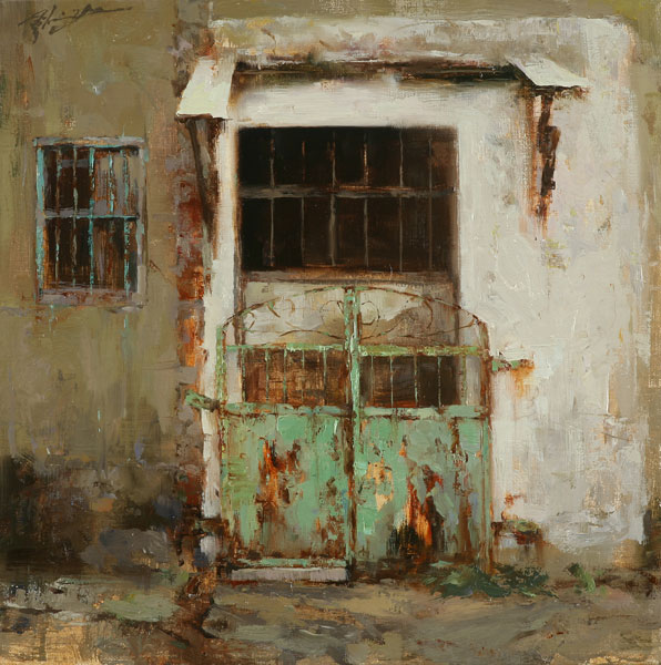 Hsin-Yao Tseng | Out, oil, 12 x 12.