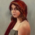 Dean Buhler, In Her Eyes, oil, 20 x 16.
