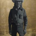 Logan Maxwell Hagege, Indian Cowboy, oil, 40 x 32.