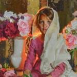 Mike Malm, Innocence, oil, 22 x 28.