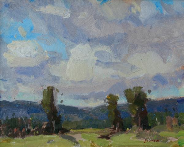 Eric Jacobsen, Spring, oil, 8 x 10.