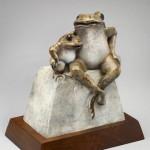 Pokey Park, Jambes, bronze, 10 x 9 x 6.
