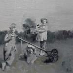 Amanda Raynes, James Raynes, oil, 7 x 5.