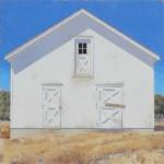 Two Doors Down, oil, 48 x 48.