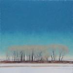 Jared Sanders, Borderline, oil, 48 x 48.