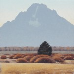 Jared Sanders, October Morgan, oil, 36 x 36.