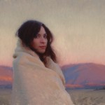 Jeremy Lipking, Sonya, oil, 12 x 16.
