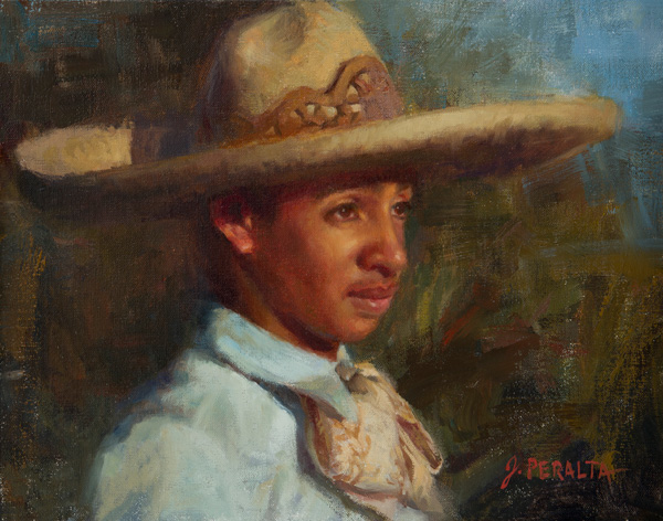 JoAnn Peralta, Rodeo Sunset, oil, 11 x 14.