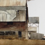 Joseph Alleman, After Years, watercolor, 30 x 22.
