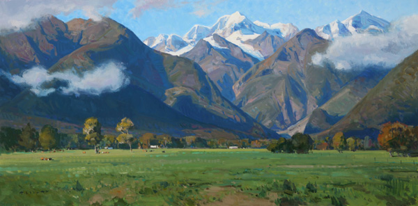 Josh-Elliott-Southern-Alps-15x30-oil-