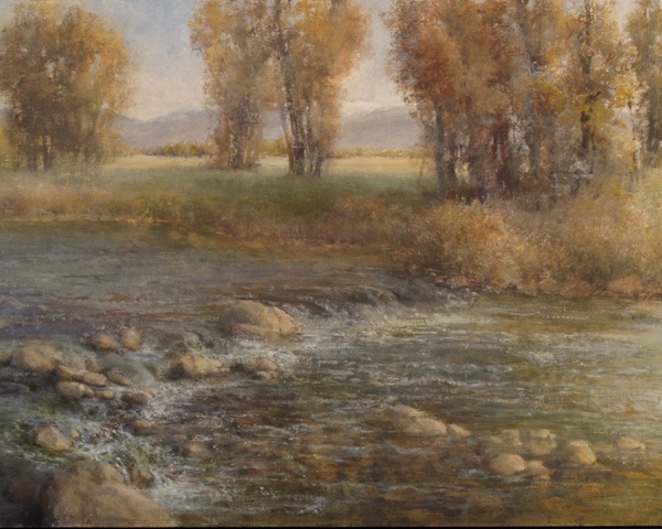 Karen Vance, Living Waters, oil, 14 x 18.
