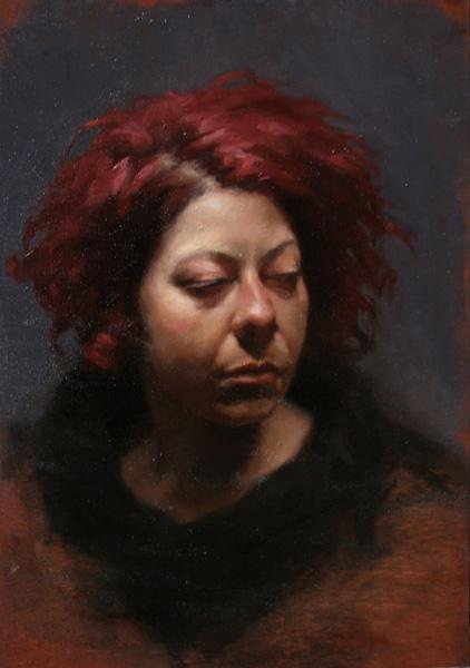 Jennifer Gennari, Katerine, oil, 19 x 22.